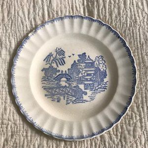 Vintage Dining - Vtg Blue Willow by Limoges-American